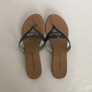 Women's Brown Metallic Sandals Charming Charlie